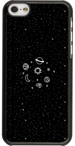Coque iPhone 5c - Space Doodle