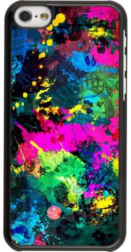 Coque iPhone 5c - splash paint
