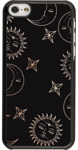 Coque iPhone 5c - Suns and Moons