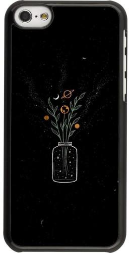 Coque iPhone 5c - Vase black