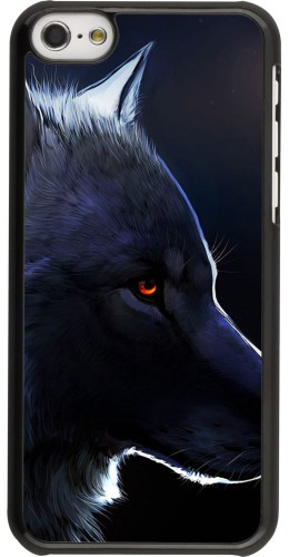 Coque iPhone 5c -  Wolf Shape
