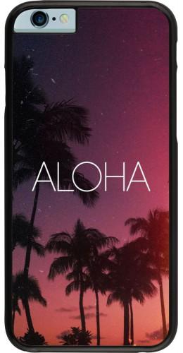 Coque iPhone 6/6s - Aloha Sunset Palms