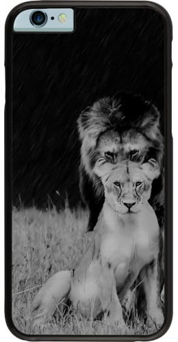 Coque iPhone 6/6s - Angry lions