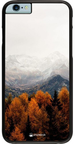 Coque iPhone 6/6s - Autumn 21 Forest Mountain
