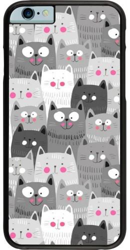 Coque iPhone 6/6s - Chats gris troupeau