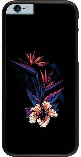 Coque iPhone 6/6s - Dark Flowers