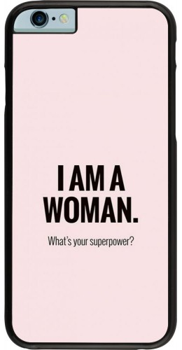 Coque iPhone 6/6s - I am a woman