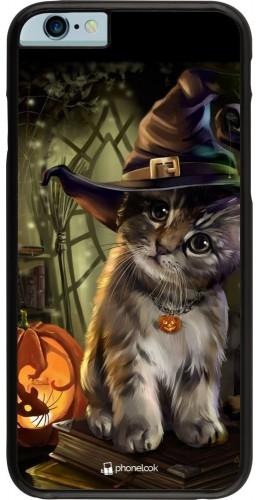 Coque iPhone 6/6s - Halloween 21 Witch cat