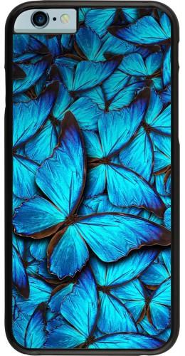 Coque iPhone 6/6s - Papillon bleu