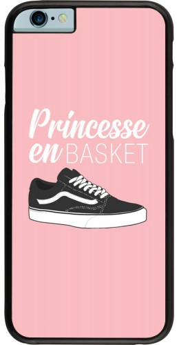 Coque iPhone 6/6s - princesse en basket