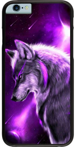 Coque iPhone 6/6s - Purple Sky Wolf