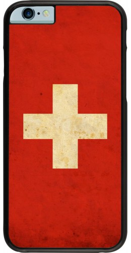 Coque iPhone 6/6s - Vintage Flag SWISS