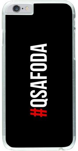 Coque iPhone 6/6s - Plastique transparent Qsafoda 1