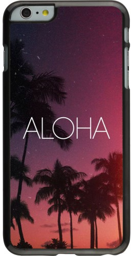 Coque iPhone 6 Plus / 6s Plus - Aloha Sunset Palms