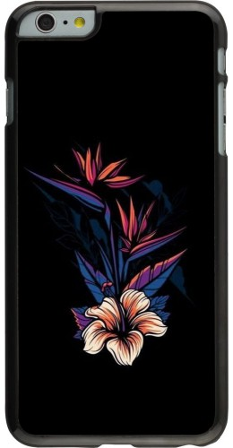 Coque iPhone 6 Plus / 6s Plus - Dark Flowers