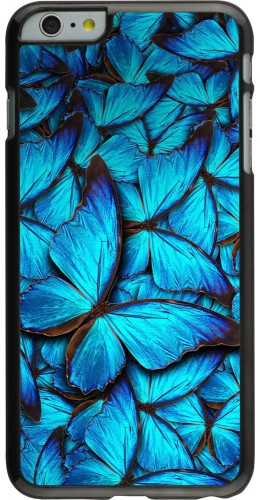 Coque iPhone 6 Plus / 6s Plus - Papillon bleu