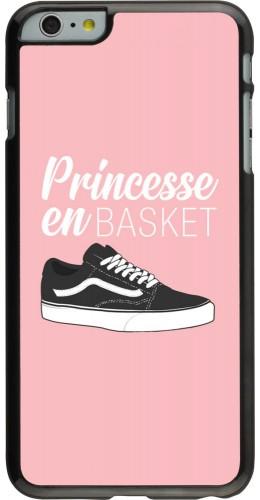 Coque iPhone 6 Plus / 6s Plus - princesse en basket