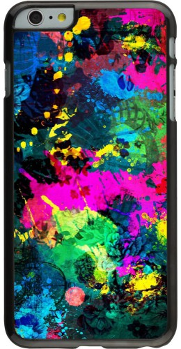 Coque iPhone 6 Plus / 6s Plus - splash paint