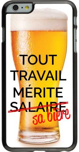 Coque iPhone 6 Plus / 6s Plus - Tout travail mérite sa bière