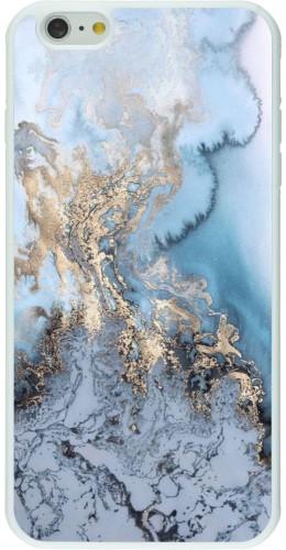 Coque iPhone 6 Plus / 6s Plus - Silicone rigide blanc Marble 04