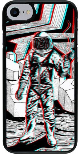 Coque iPhone 7 / 8 / SE (2020) - Anaglyph Astronaut