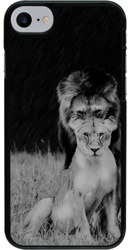 Coque iPhone 7 / 8 - Angry lions