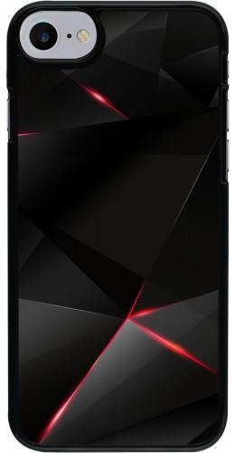 Coque iPhone 7 / 8 / SE (2020) - Black Red Lines