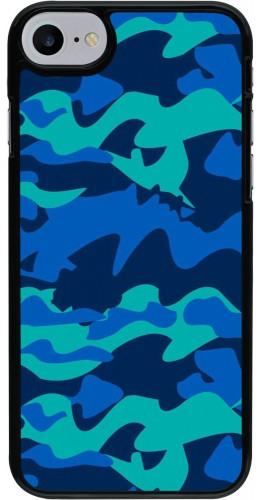 Coque iPhone 7 / 8 / SE (2020) - Camo Blue