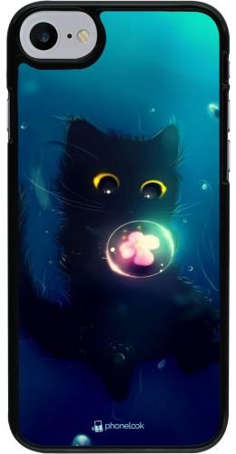 Coque iPhone 7 / 8 / SE (2020) - Cute Cat Bubble