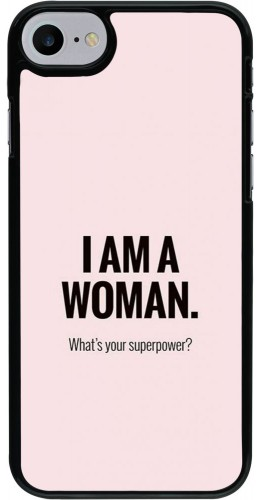 Coque iPhone 7 / 8 / SE (2020) - I am a woman