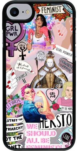 Coque iPhone 7 / 8 / SE (2020) - Girl Power Collage