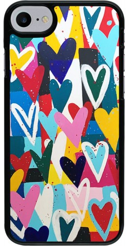 Coque iPhone 7 / 8 - Joyful Hearts