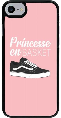 Coque iPhone 7 / 8 - princesse en basket