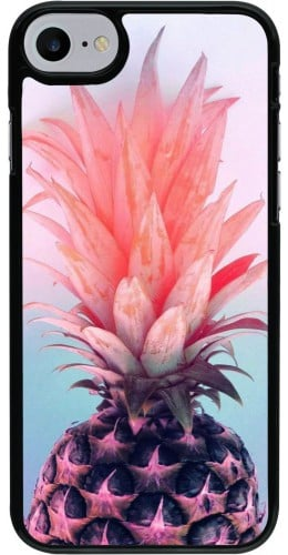 Coque iPhone 7 / 8 - Purple Pink Pineapple