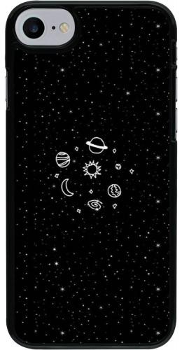 Coque iPhone 7 / 8 - Space Doodle