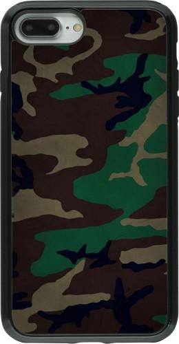 Coque iPhone 7 Plus / 8 Plus - Hybrid Armor noir Camouflage 3