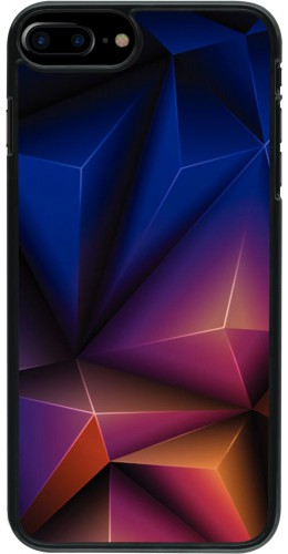 Coque iPhone 7 Plus / 8 Plus - Abstract triangles