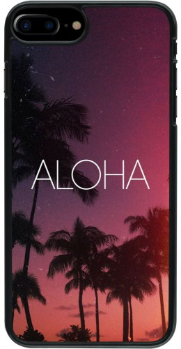 Coque iPhone 7 Plus / 8 Plus - Aloha Sunset Palms
