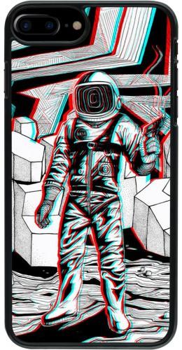 Coque iPhone 7 Plus / 8 Plus - Anaglyph Astronaut