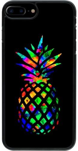 Coque iPhone 7 Plus / 8 Plus - Ananas Multi-colors
