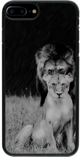 Coque iPhone 7 Plus / 8 Plus - Angry lions