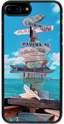 Coque iPhone 7 Plus / 8 Plus - Cool Cities Directions