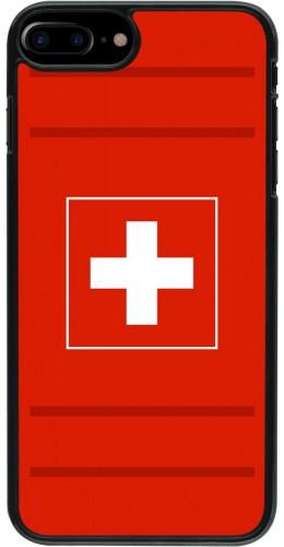 Coque iPhone 7 Plus / 8 Plus - Euro 2020 Switzerland