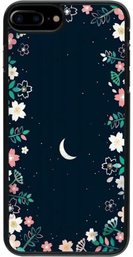 Coque iPhone 7 Plus / 8 Plus - Flowers space