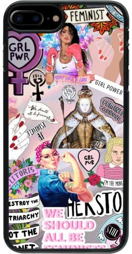 Coque iPhone 7 Plus / 8 Plus - Girl Power Collage