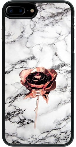 Coque iPhone 7 Plus / 8 Plus - Marble Rose Gold