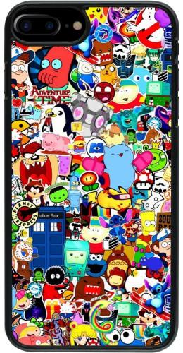 Coque iPhone 7 Plus / 8 Plus - Mixed cartoons