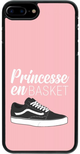 Coque iPhone 7 Plus / 8 Plus - princesse en basket