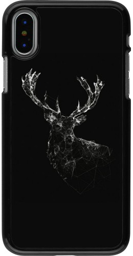 Coque iPhone X - Abstract deer