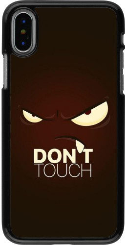 Coque iPhone X / Xs - Angry Dont Touch